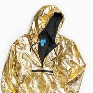 Adidas Gold Fontanka Anorak Jacket Men's Large